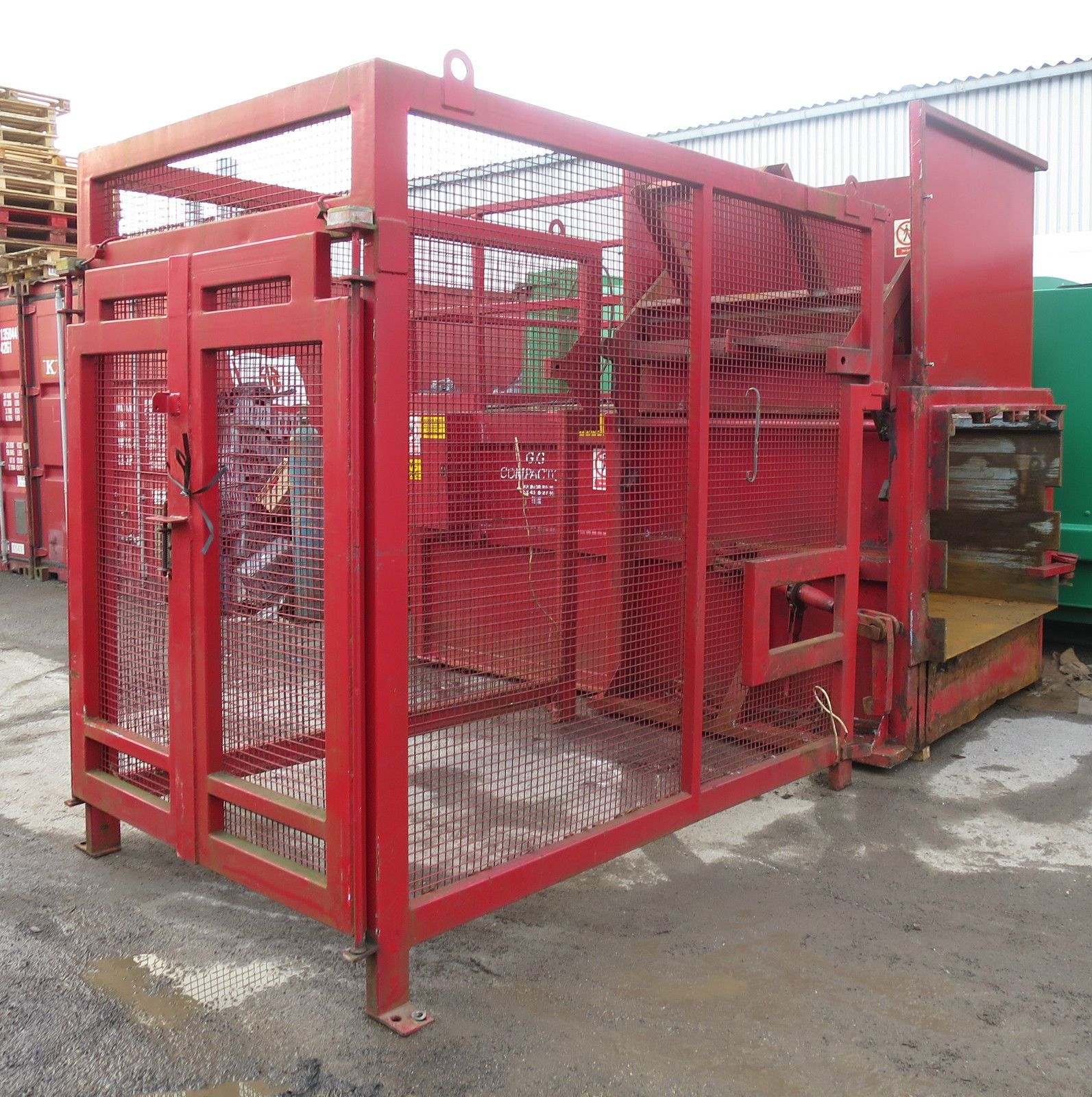 Trash Compactors | DNV 2.7-1 Offshore Containers | On-Site